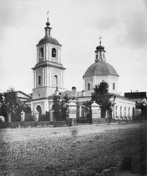 Церковь Введения во храм Пресвятой Богородицы на Лубянке