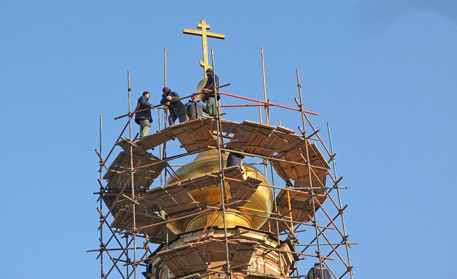 Реставрация храма: инструкция по выживанию
