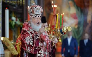 Христос воскресе! Слово Святейшего Патриарха Кирилла
