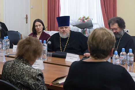 На Рождественских чтениях обсудили проблемы сохранения церковного искусства.