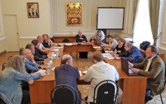 заседание Экспертного совета по церковному искусству, архитектуре и реставрации