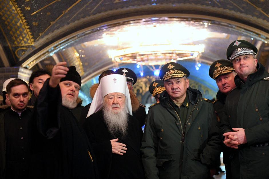 Завершены работы в нижнем храме главного собора ВС РФ