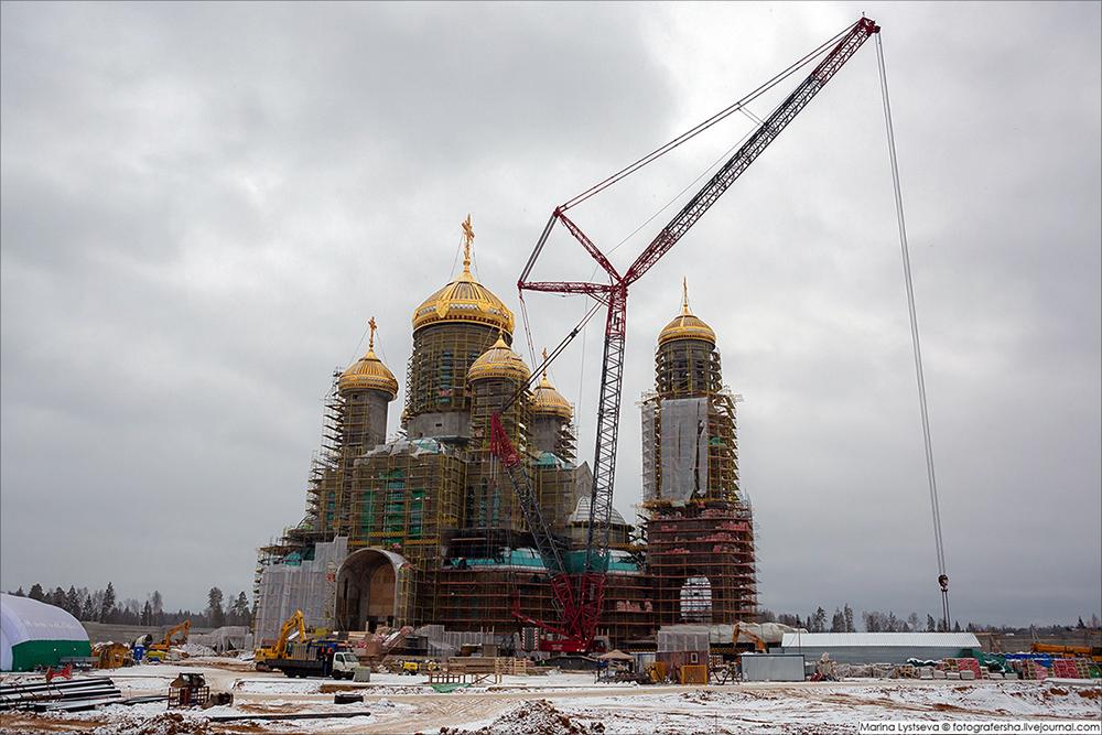 Строительство Главного храма ВС РФ